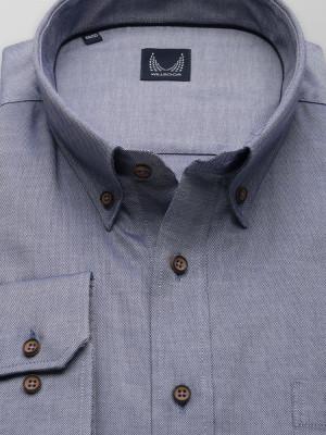Klasyczna popielata koszula