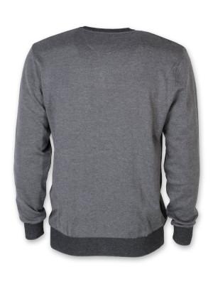 Cienki szary sweter męski