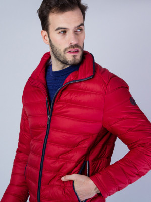 Czerwona kurtka pikowana Redpoint