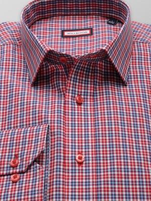 Taliowana koszula w kratkę
