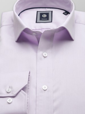 Wrzosowa taliowana koszula
