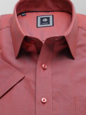 Koralowa klasyczna koszula