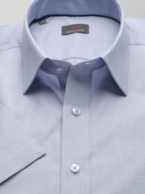 Jasnobłękitna taliowana koszula