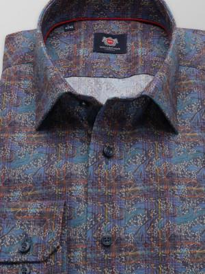Taliowana koszula we wzory