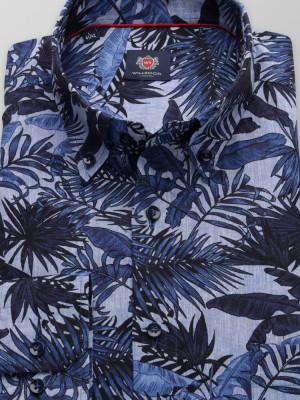Klasyczna koszula w liście