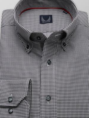 Taliowana koszula w drobne gwiazdki