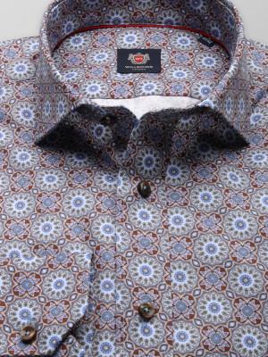Taliowana koszula z orientalne wzory