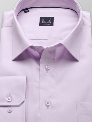 Klasyczna wrzosowa koszula z kołnierzykiem KENT