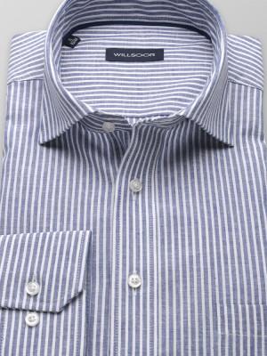 Klasyczna koszula w niebieskie paski