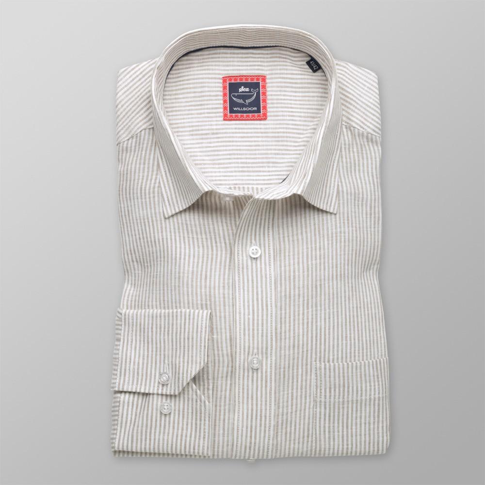 a2a0f96da4 Koszula lniana Classic (wzrost 176-182)