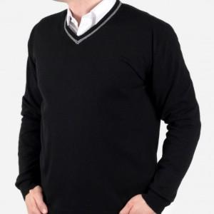 Pulower cienki Willsoor - czarny