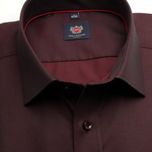 Klasyczna koszula burgund