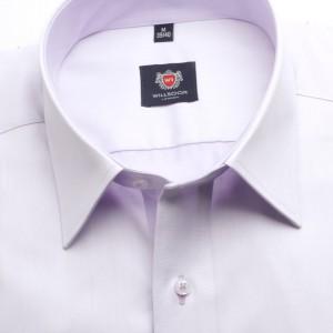 Jasnowrzosowa taliowana koszula