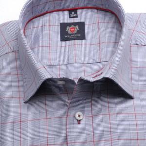 Taliowana koszula w kratę Księcia Walii