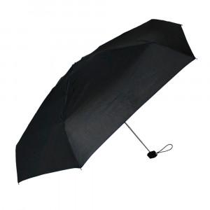 Czarny parasol przeciwdeszczowy