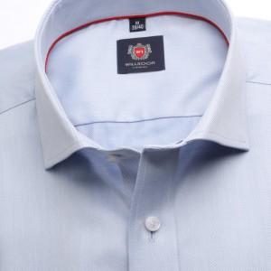 Klaszcyna jasnobłękitna koszula