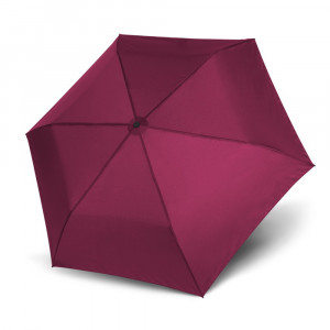 Fioletowy gładki parasol damski marki Doppler