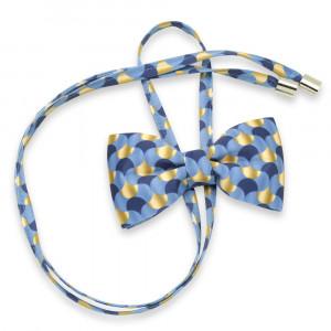 Niebiesko-złota mucha damska