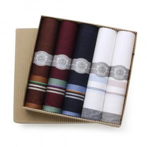 Zestaw kolorowych chusteczek bawełnianych