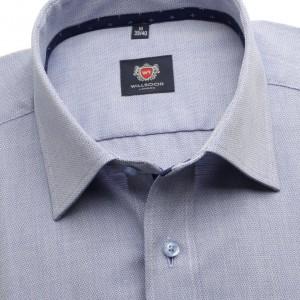 Klasyczna szaro-niebieska koszula
