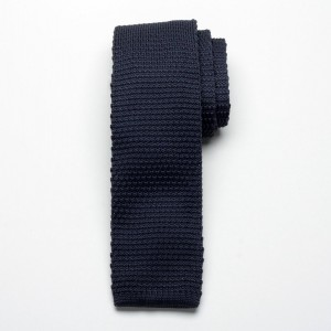 Krawat tkany Willsoor - grafitowy