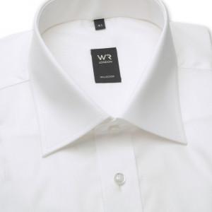 Klasyczna biała koszula na spinki