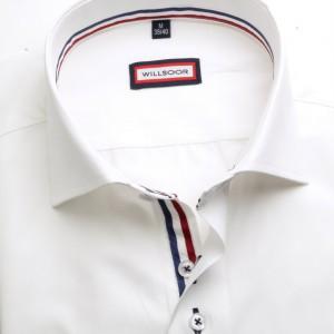 Biała taliowana koszula