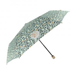 Miętowy parasol Perletti we wzorki