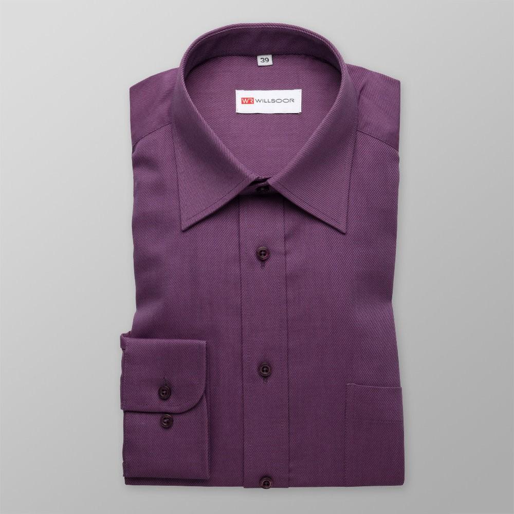 Klasyczna fioletowa koszula