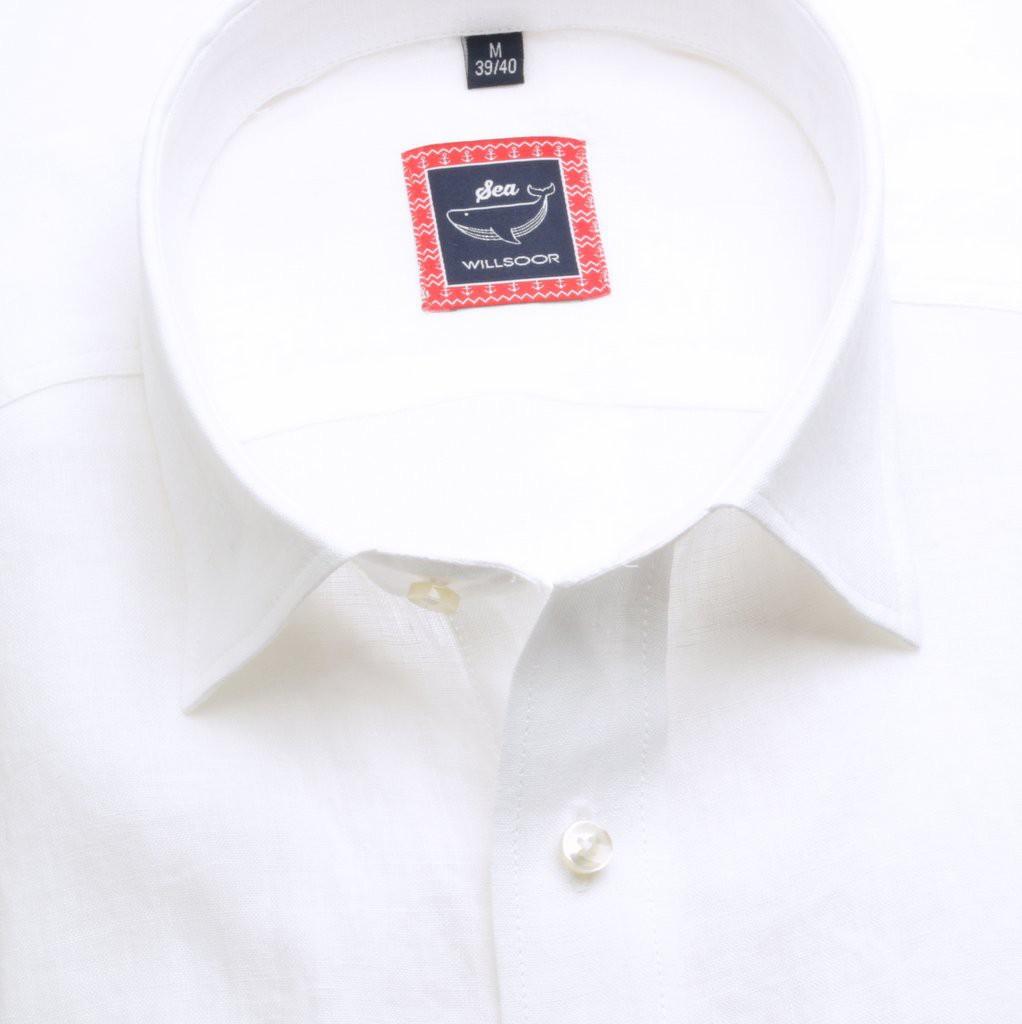 Koszula lniana Classic (wzrost 176-182)