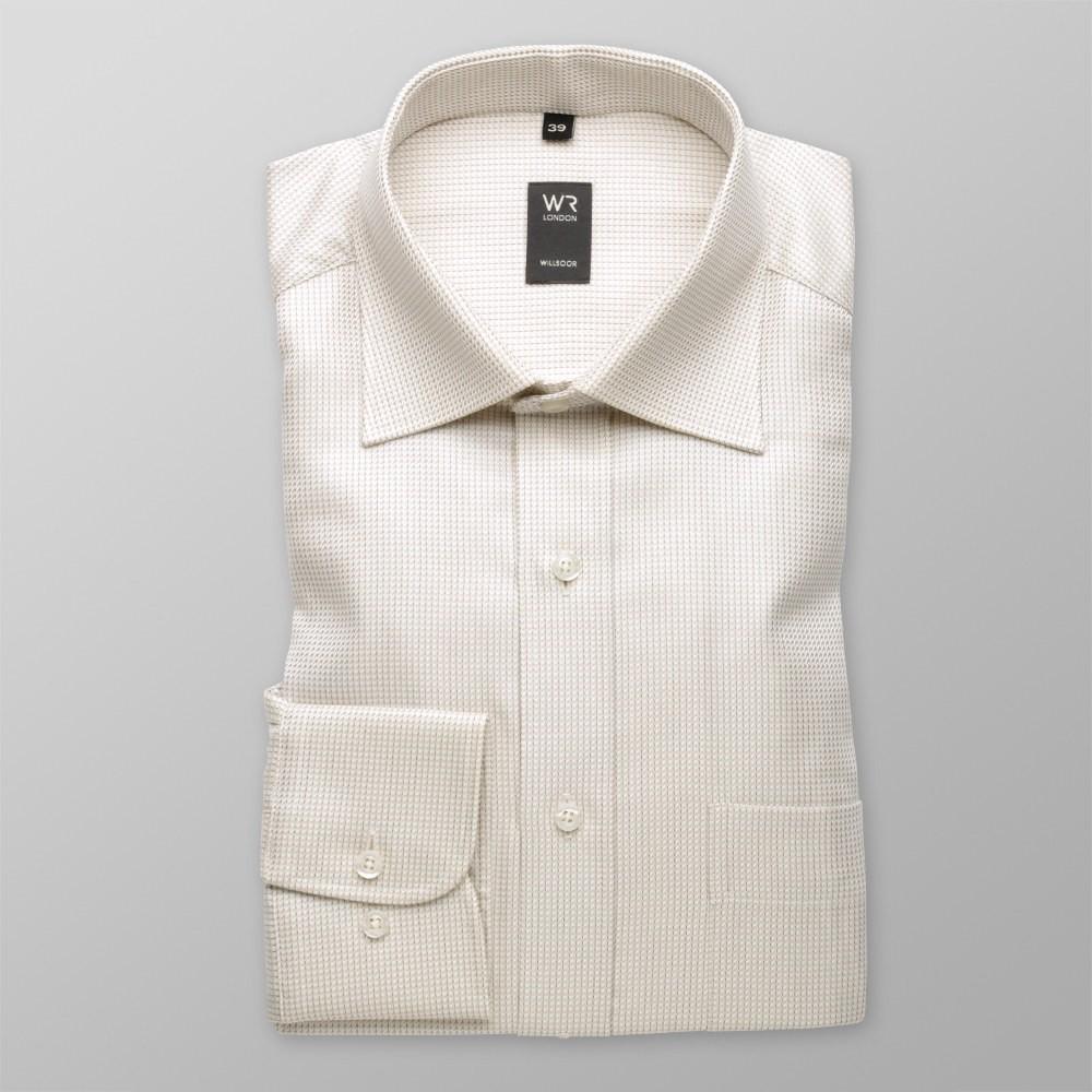 Klasyczna beżowa koszula