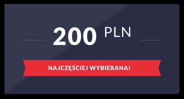 Karta podarunkowa: 200 PLN