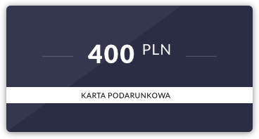 Karta podarunkowa: 400 PLN