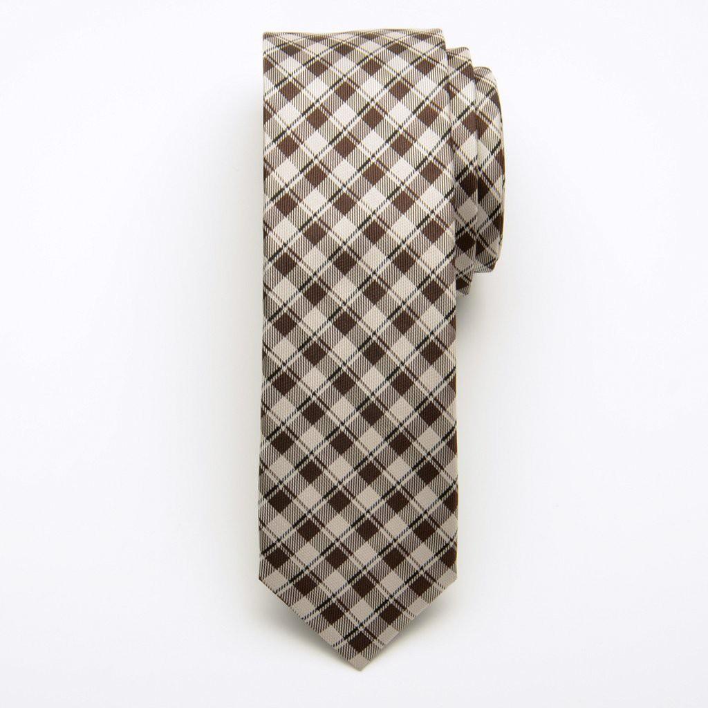 Krawat jedwabny wąski (wzór 204)