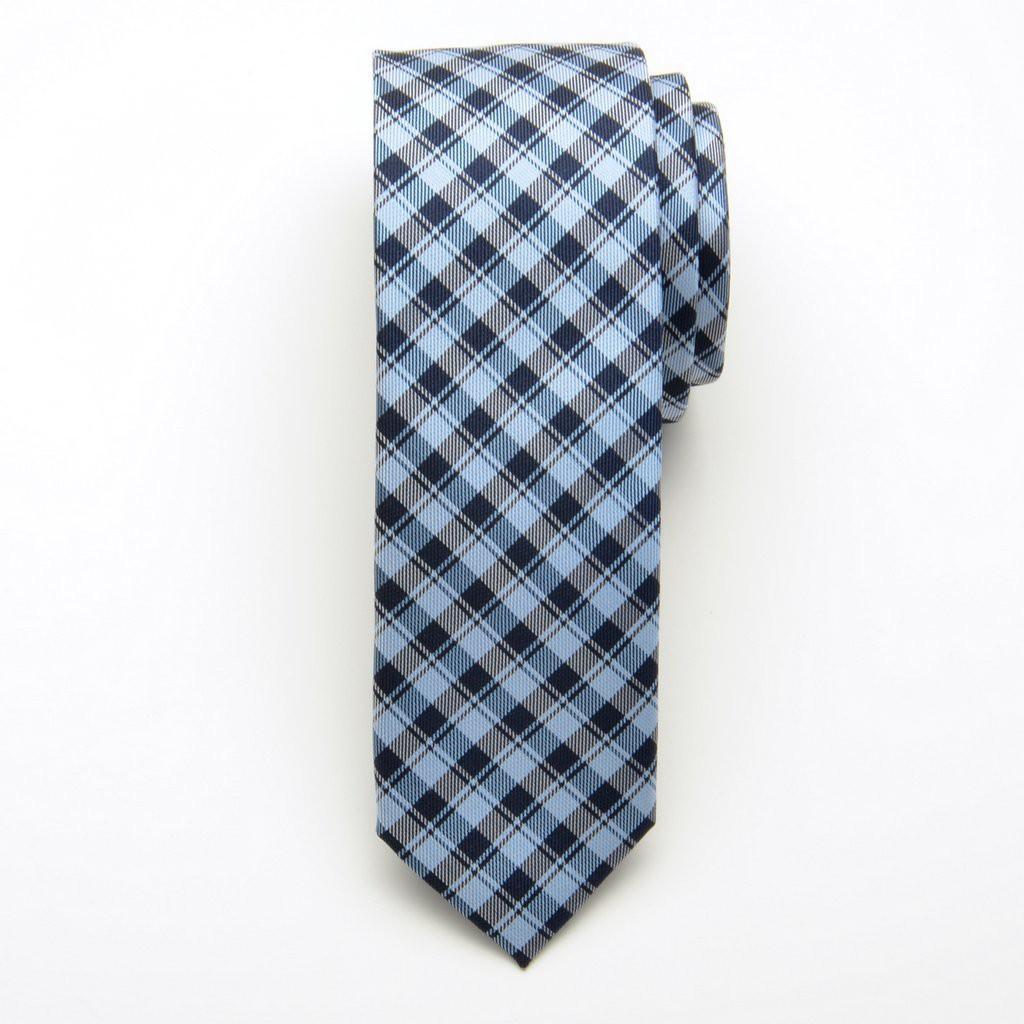 Krawat jedwabny wąski (wzór 205)