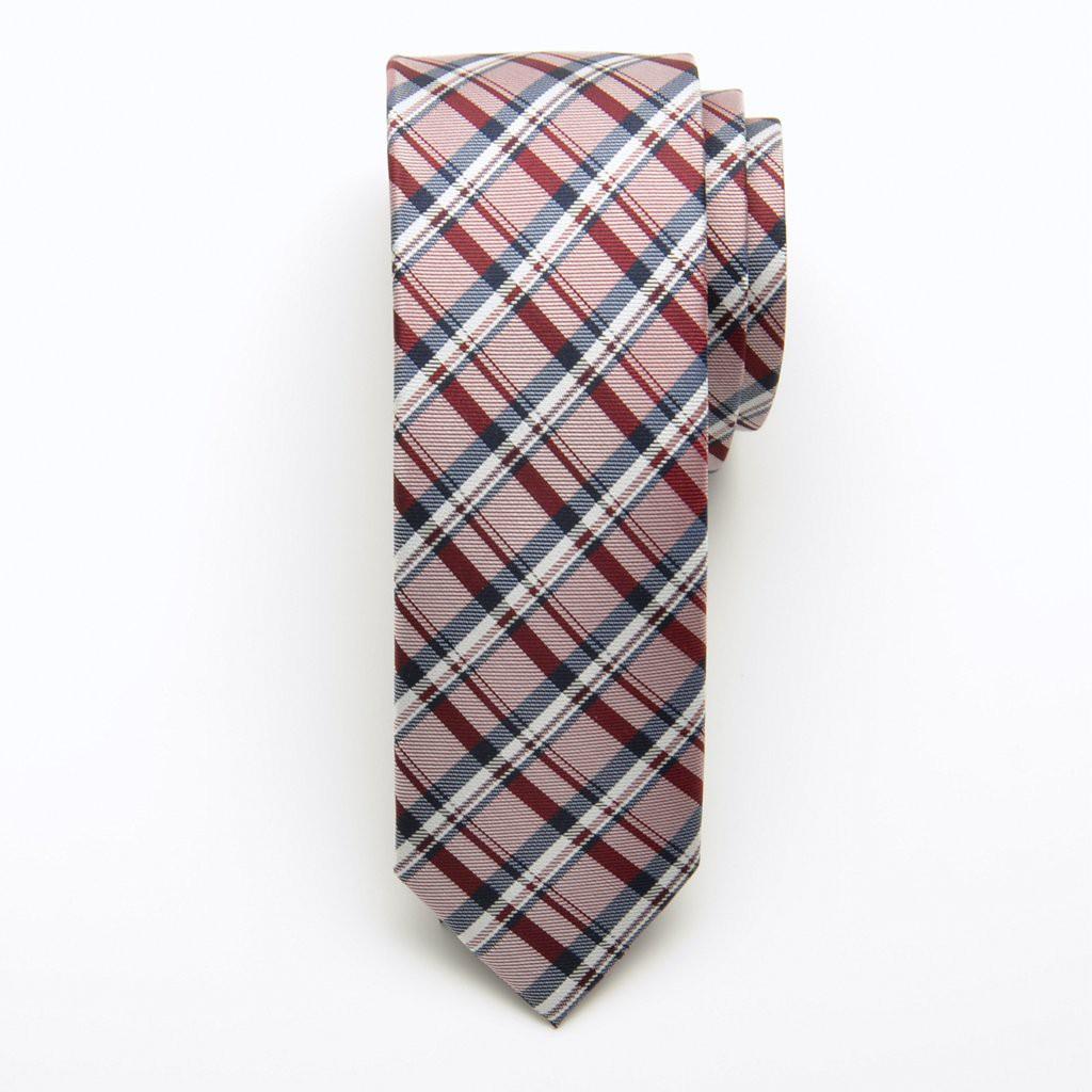 Krawat jedwabny wąski (wzór 206)