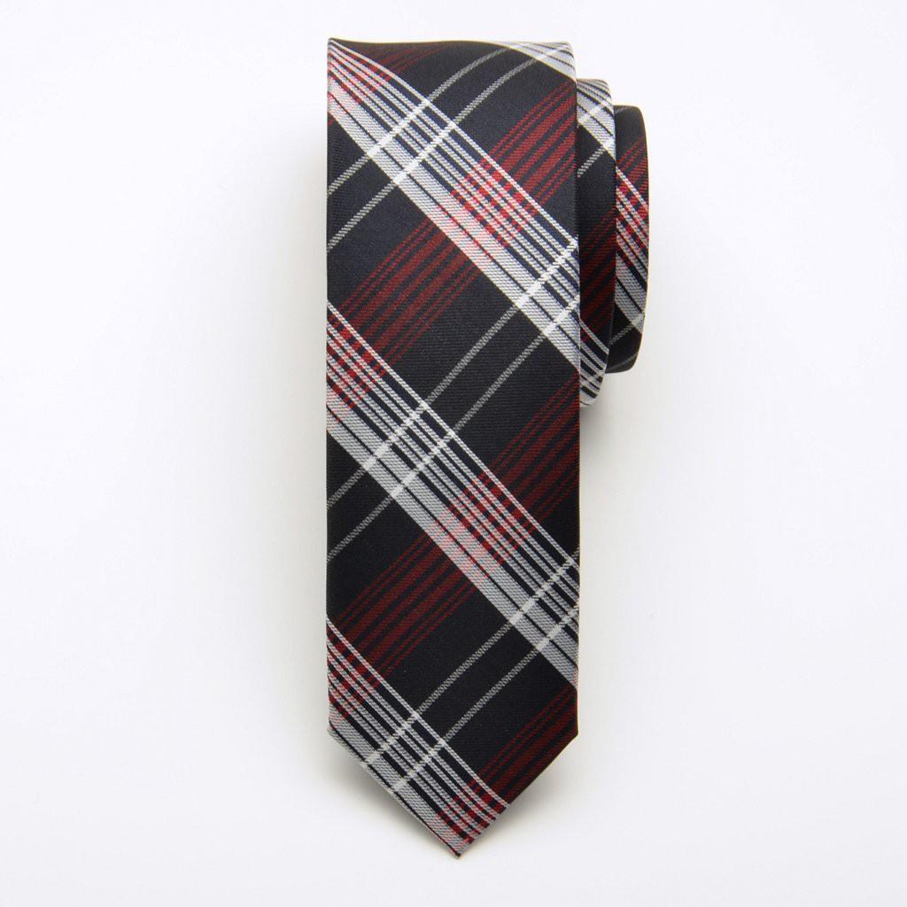 Krawat jedwabny wąski (wzór 207)