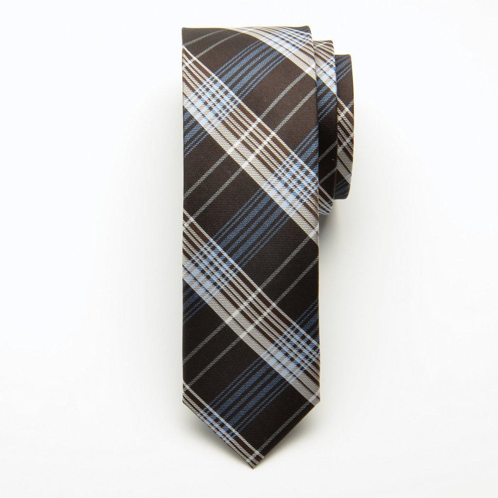 Krawat jedwabny wąski (wzór 208)