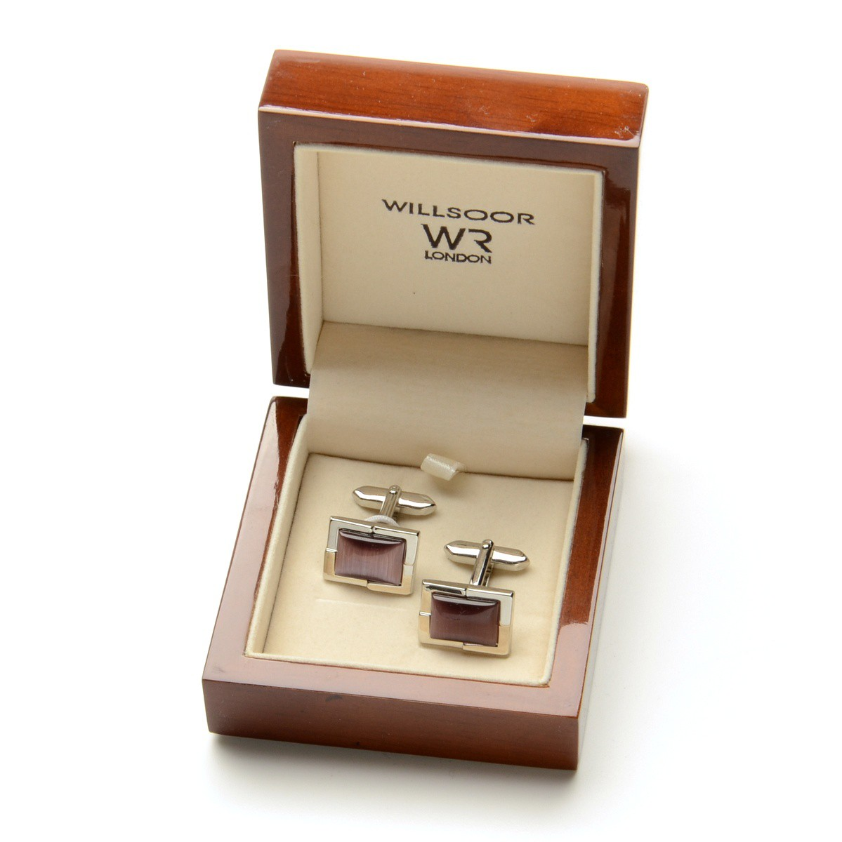 a1472e3979537 Spinki do mankietów w eleganckim drewnianym pudełko - idealne na prezent