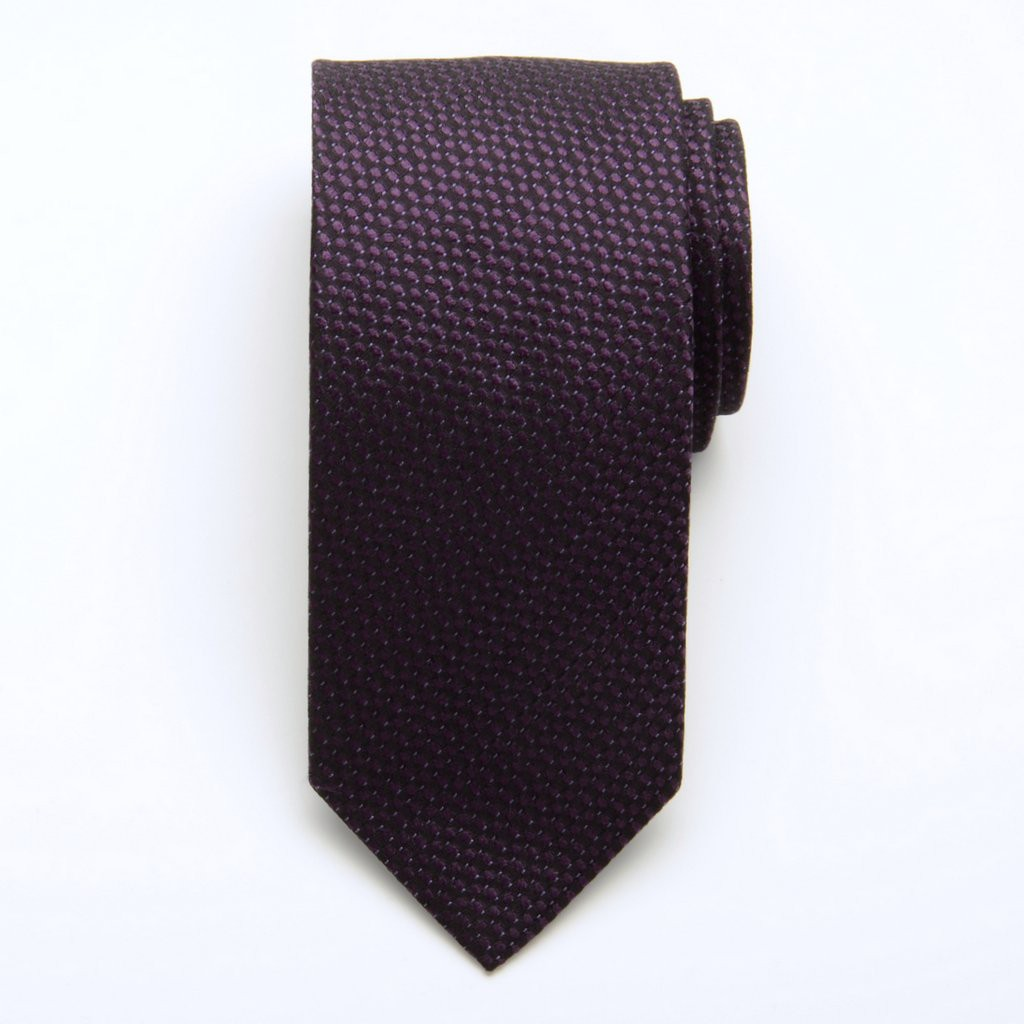 Krawat jedwabny Fine Selection (wzór 212)