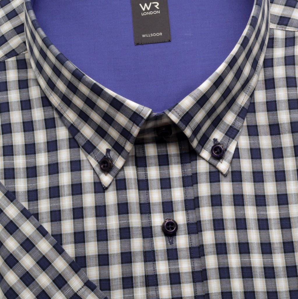 Klasyczna koszula w kratkę