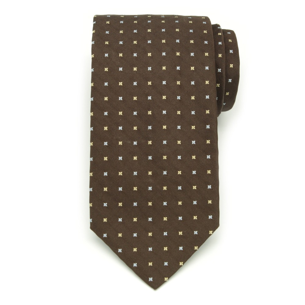 Krawat jedwabny (wzór 34)