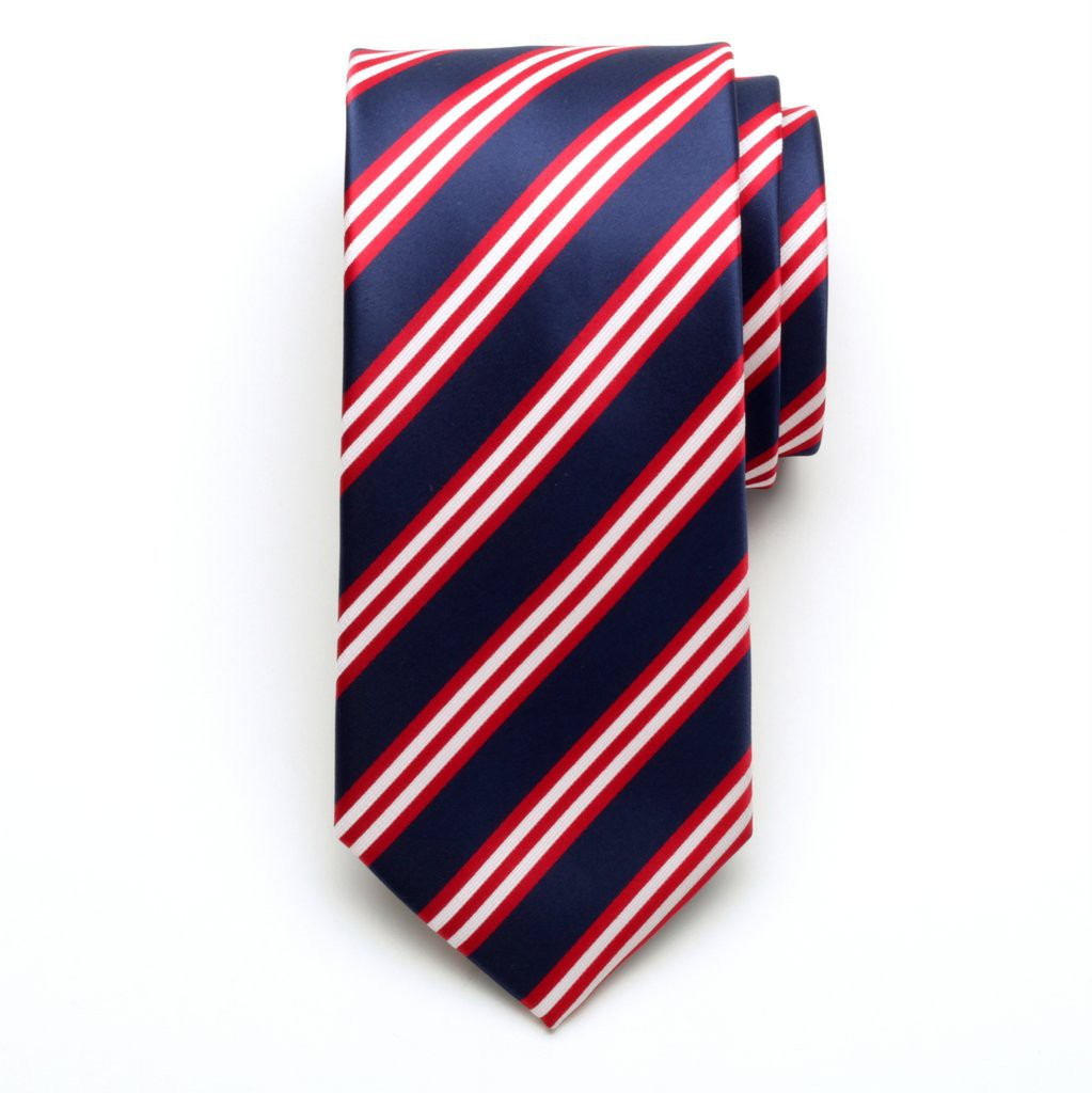 Krawat microfibra (wzór 652)