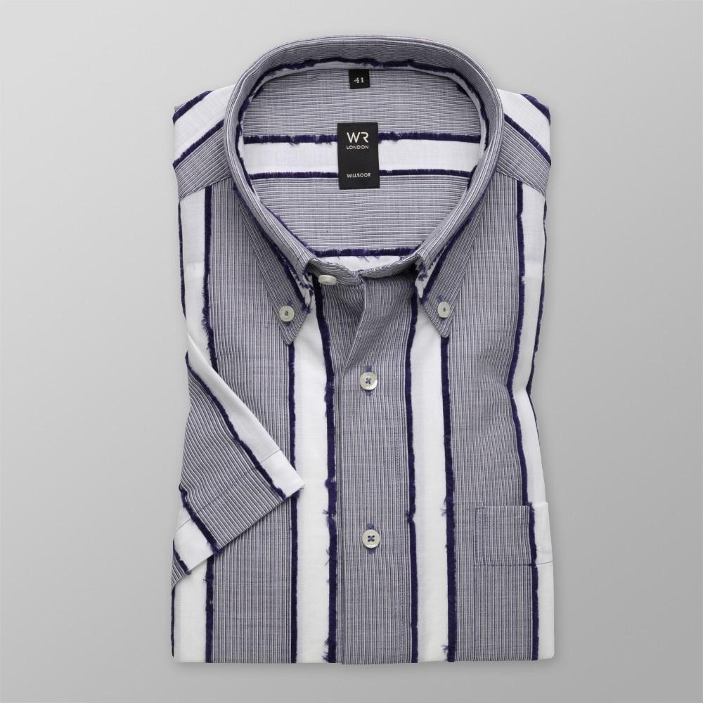 Klasyczna koszula w prążek i pasy