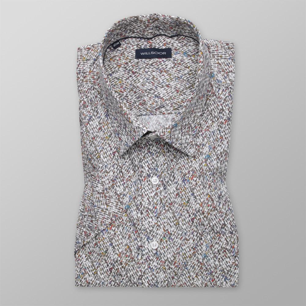 Brązowa klasyczna koszula