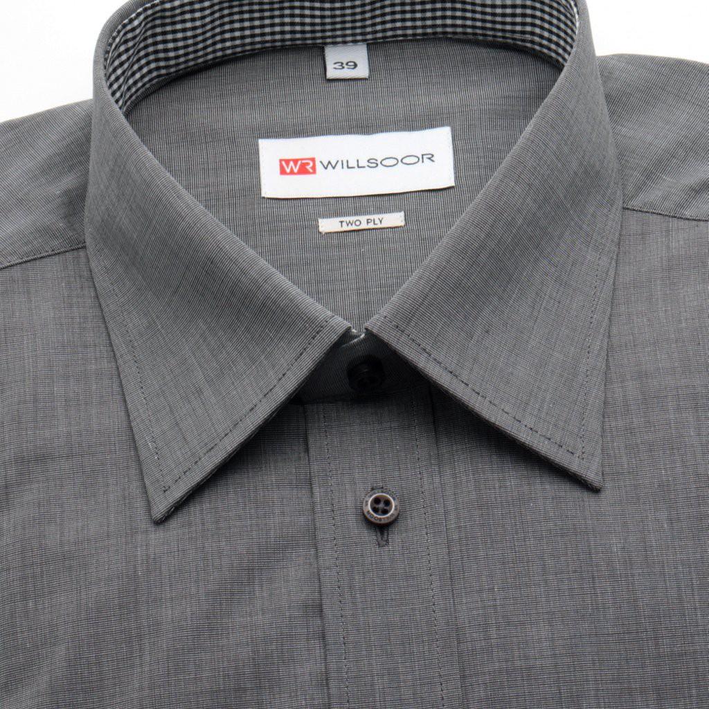 Klasyczna szara koszula