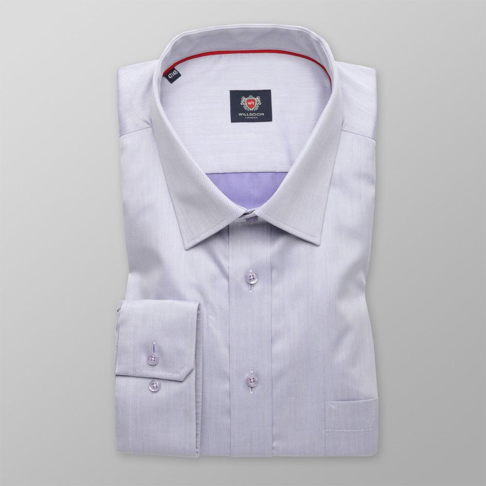 Jasnowrzosowa klasyczna koszula