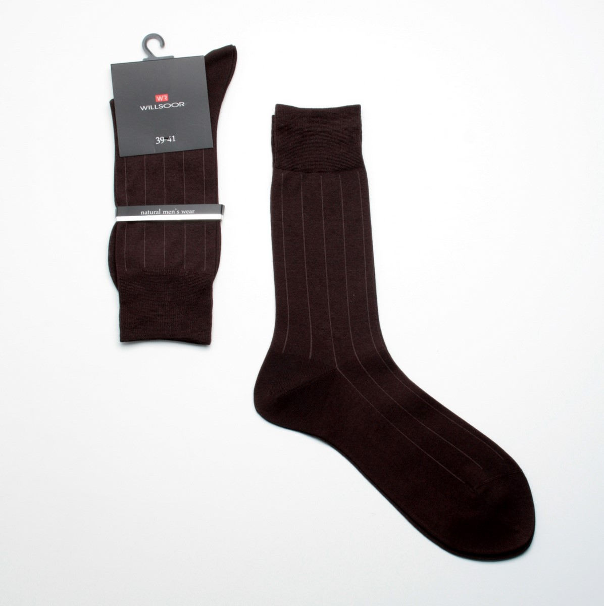 Skarpetki bawełniane brązowe