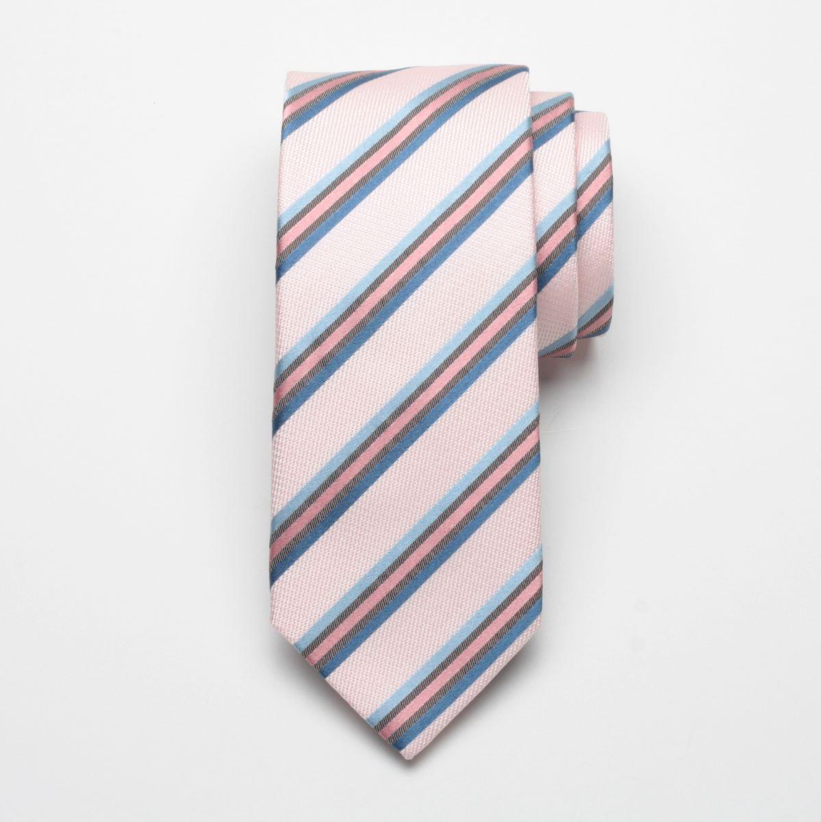 Krawat jedwabny Fine Selection (wzór 62)