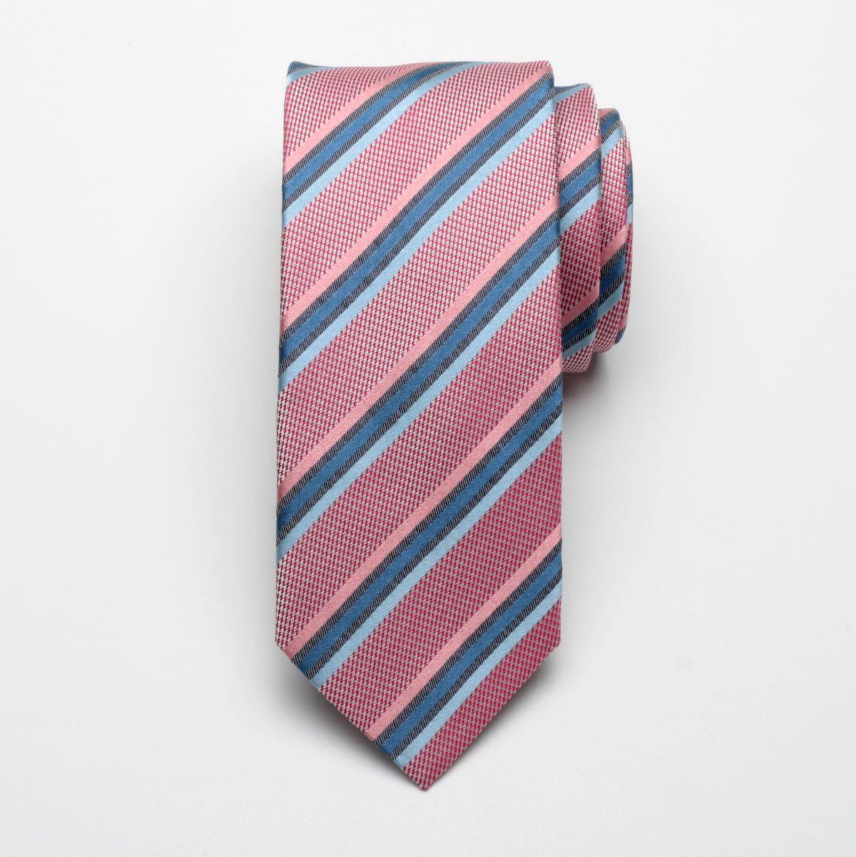 Krawat jedwabny Fine Selection (wzór 56)